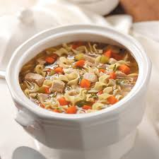 fashioned turkey noodle soup recipe taste of home