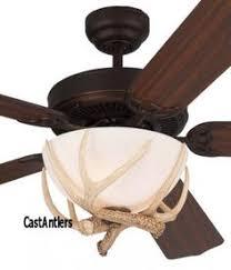 Deer Antler Ceiling Fan Light Kit Hton Bay Antler 3 Light Semi Flush Mount Light Antlers