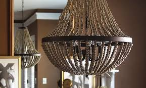 pottery barn kitchen lighting chandelier outstanding natural wood chandelier with bronze round