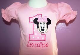 home birthday shirts birthday minnie number shirt