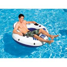 Inflatable Pool Floats by Intex River Run Float Pool Floats U0026 Games Ace Hardware