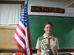 Eagle Scout Flag Sespe District Ventura County Council Boy Scouts Of America