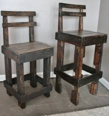 Wood Bar Chairs Tall Outdoor Bar Stools Foter