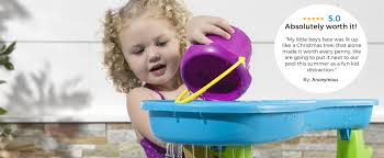 step 2 rain showers splash pond water table shop kids toys and best selling toys from step2