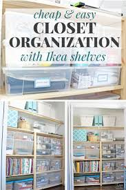 Organizing A Closet by Cheap U0026 Easy Closet Organization With Ikea Ivar Shelves Simple