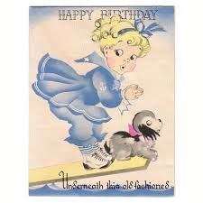 402 best vintage greetings birthday images on