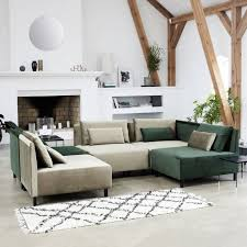 house doctor riba rug 90x200 cm black white cotton living and co