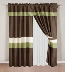Chezmoi Collection Curtains by Amazon Com 4 Piece Luxury Stripe Grommet Navy Blue Grey