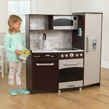 kidkraft large play kitchen espresso