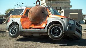 Challenge The Mo Guys Mo Guys Destroying Cars With Wrecking Ballhttps Www