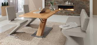 Modern Bench Dining Table 30 Modern Dining Rooms