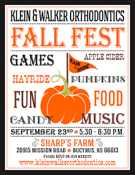 klein walker fall fest 2017 september 23rd klein walker