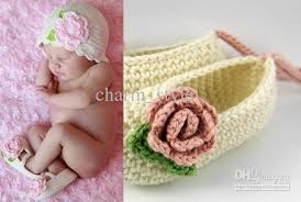 2018 6 2015new sale cheap organic crochet baby booties