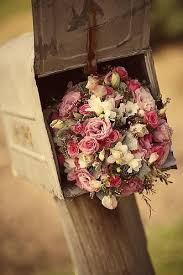 mail flowers bouquet box flower flowers mail mail box image 84889 on