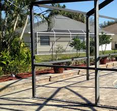 pool cage painting professionals in southwest florida
