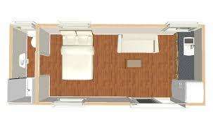 studio apartment open plan interior design