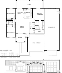 Cape Style House Plans by Arizona Style Homes Floor Plans Home Styles