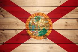 flag of florida wood texture it for free