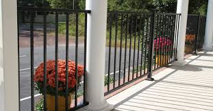 Outdoor Banisters And Railings Wrought Iron Railings U0026 Metal Porch Railing Rdi