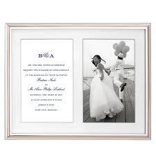 bloomingdale bridal gift registry kate spade new york rosy glow invitation frame