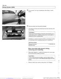 airbag bmw 540i 1998 e39 workshop manual