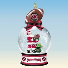 south carolina gamecocks snow globe ornaments the danbury mint