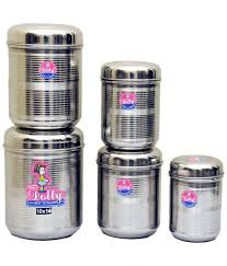 kitchen canister sets stainless steel kitchen awesome kitchen canister set with round stainless steel