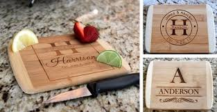 cutting board personalized personalized bamboo cutting boards