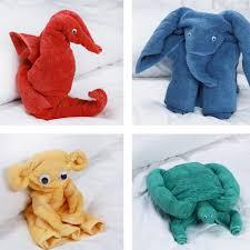 bathroom towel folding ideas fold bath towels into adorable animals