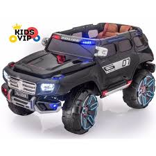 remote control police car with lights and siren kids and police edition luxury suv 12v ride on car with