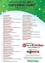 freeform u0027s 25 days of christmas home facebook