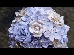 wedding flower bouquets paper flower wedding bouquet