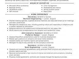 sample hvac resume