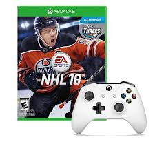 xbox one controller seahawks xbox one white wireless controller with nhl 18 xb1 game 1261076 hsn