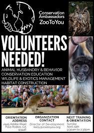 events conservation ambassadors