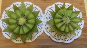 Vegetable And Fruit Decoration Art In Fruit And Vegetable Art In Kiwi Flower Decoration Fruit