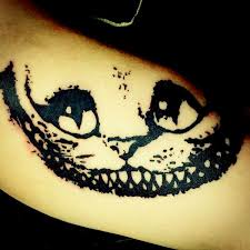 unique cheshire cat tattoo designs ideas for tou