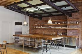 Rustic Wood Interior Walls 59 Cool Industrial Kitchen Designs That Inspire Digsdigs
