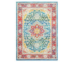 Red Turquoise Rug Rugs Big Lots