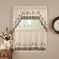 Chocolate Curtains With Valance Buy Brown Valances For Windows From Bed Bath U0026 Beyond