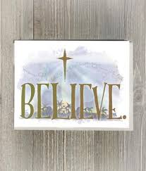 believe cards and print lellow lolly