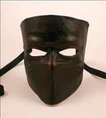 leather mask leather bauta mask masking leather mask and