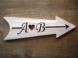 Personalized Wood Signs Home Decor Personalized Wood Arrow Sign Wooden Sign House Sign Home Decor