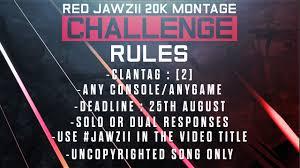 Challenge Montage Jawzii 20k Montage Challenge