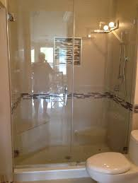 bathroom shower doors ideas bathroom clear glass frameless shower door ideas frameless