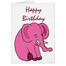 funny elephant cards greeting u0026 photo cards zazzle