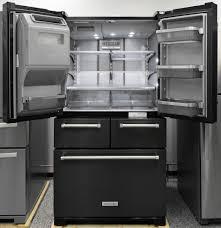 kitchenaid krmf706ebs refrigerator review reviewed com refrigerators
