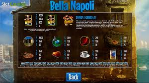review of bella napoli video slot from capecod gaming rtp 95 14