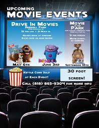 we have a variety of movie events featured throughout the year