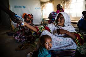 bringing health and nutrition to children at risk u2013 unicef chad
